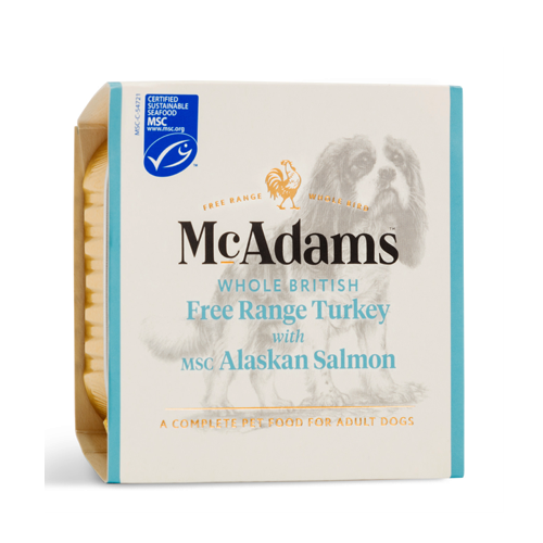 McAdams Wet Dog Turkey & Salmon 150g