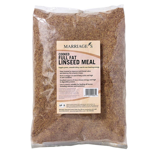 Marriages Cooked Linseed Meal