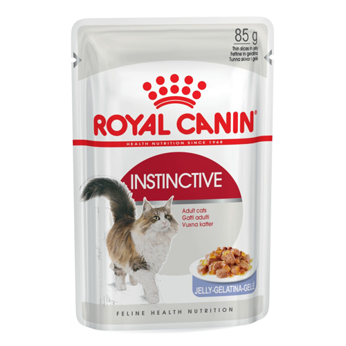 Royal Canin Cat Pouch Instinctive Jelly Adult 12x85g