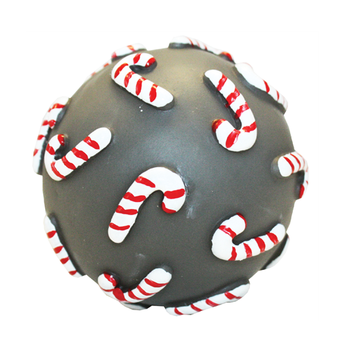 Christmas Happy Pet Candy Cane Ball