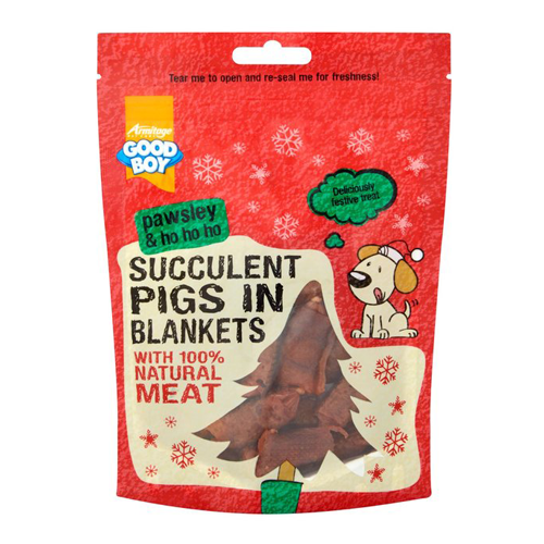 Christmas Goodboy Pawsley Pigs In Blankets 80g