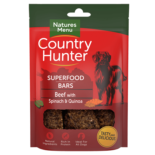 Country Hunter Superfood Bars Beef 100g