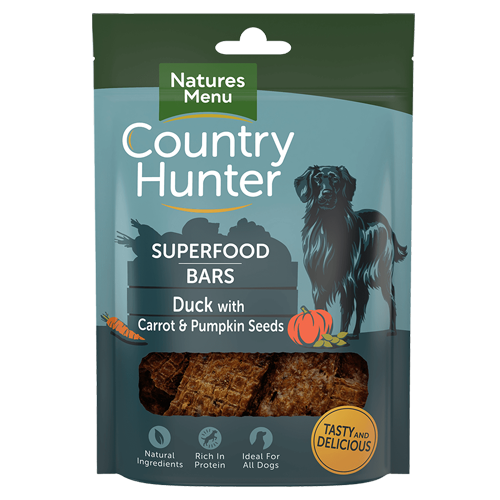 Country Hunter Superfood Bars Duck 100g