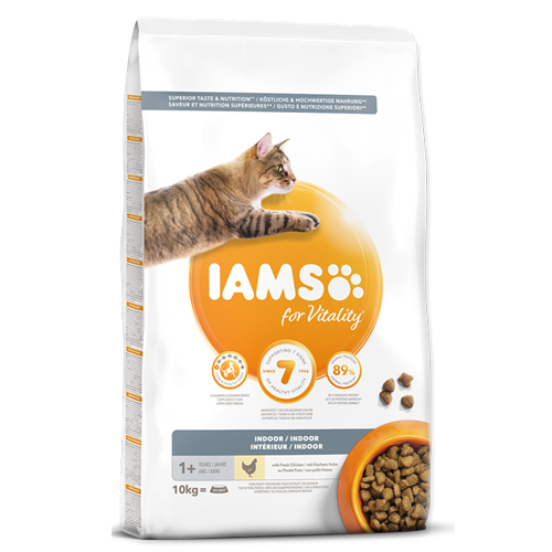 Iams Cat Vitality Indoor Chicken 2kg
