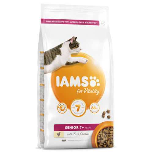 Iams Cat Vitality Senior Chicken 2kg