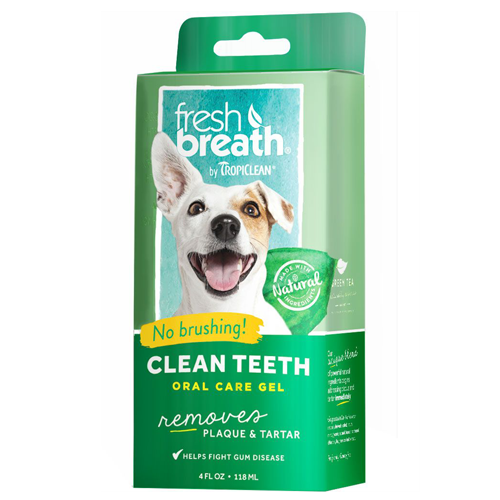 TropiClean Clean Teeth Oral Care Gel 118ml