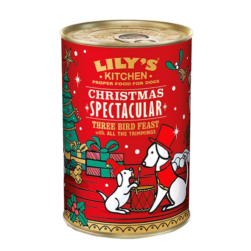 Lily's Kitchen Dog Christmas 3 Bird Feast 400g