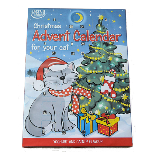 Christmas Hatchwell Advent Calendar For Cats