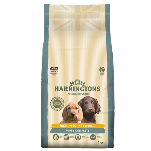 Harringtons Dog Puppy Turkey & Rice