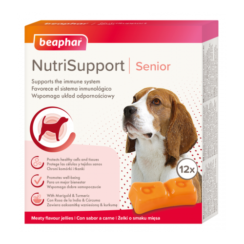 Beaphar NutriSupport Senior Dog 12 Pack