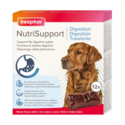 Beaphar NutriSupport Digestion Dog 12 Pack