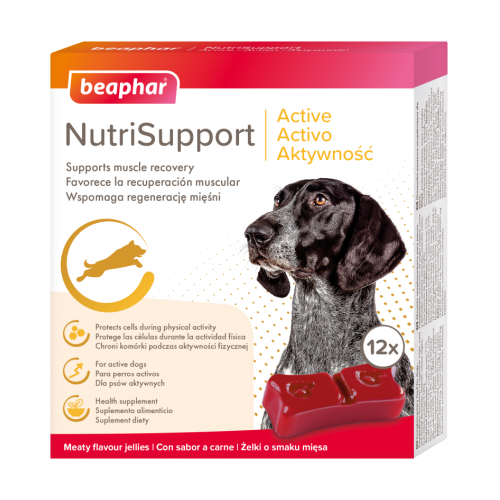 Beaphar NutriSupport Active Dog 12 Pack
