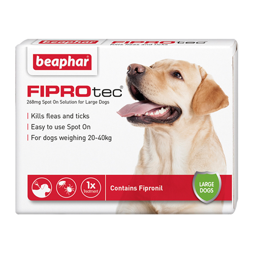 Beaphar FIPROtec Dog 268mg