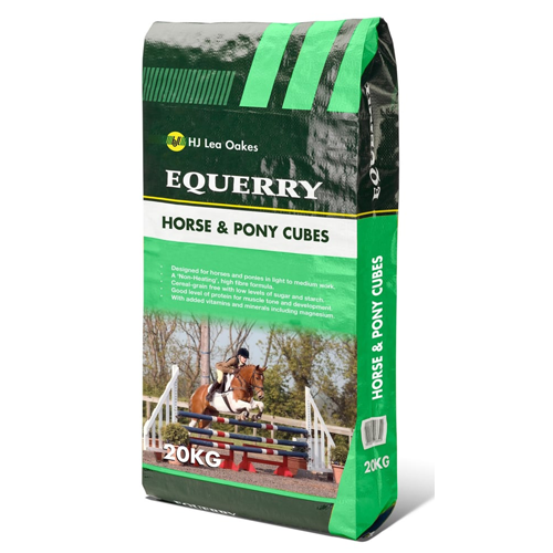 Equerry Horse & Pony Cubes 20kg