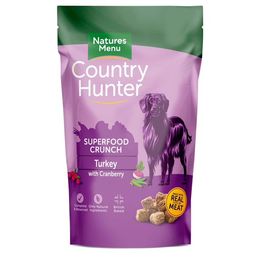 Country Hunter Superfood Crunch Turkey 1.2kg