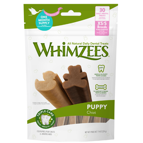 Whimzees Puppy Extra Small/Small Breed 14 Pack