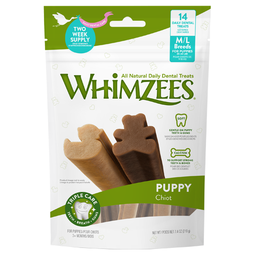 Whimzees Puppy Medium/Large Breed 7 Pack